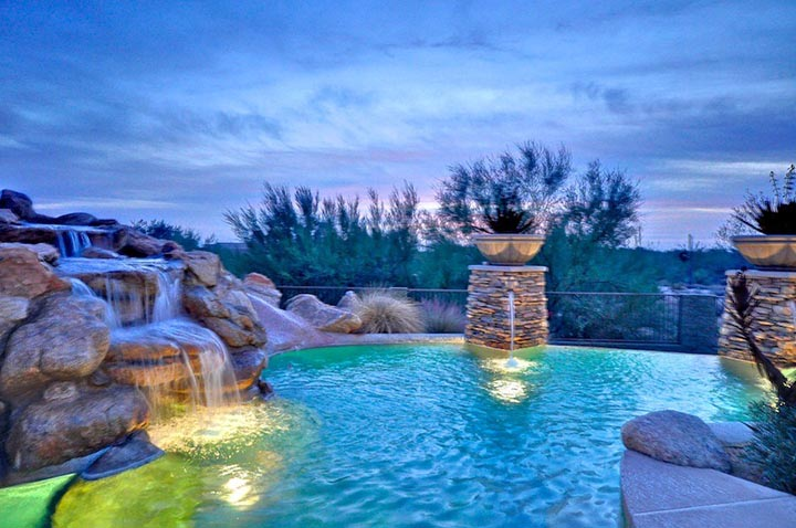 Custom Home Pool
