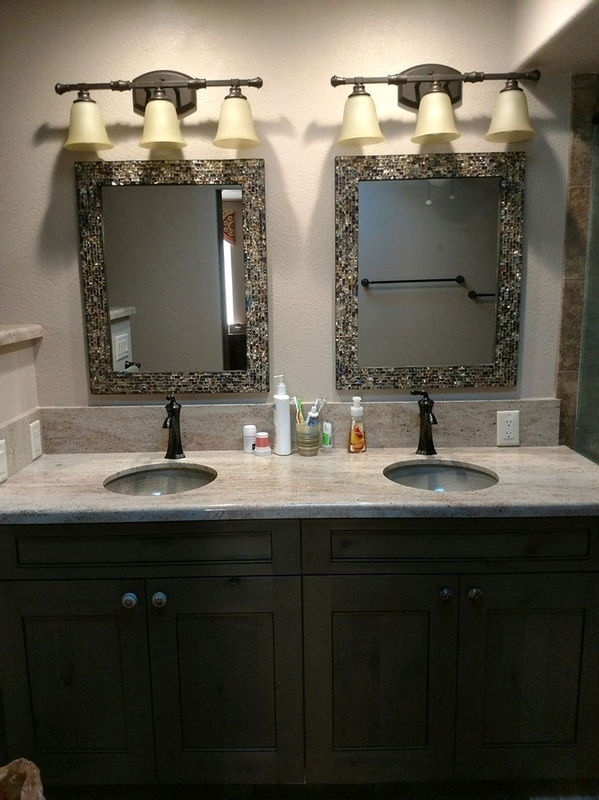Bathroom vanity renovation