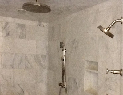 Marble Shower Remodel